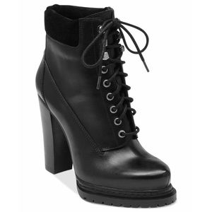 Heeled Combat Boot - BCBG